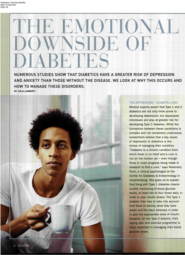 diabetes and Mental Health 1