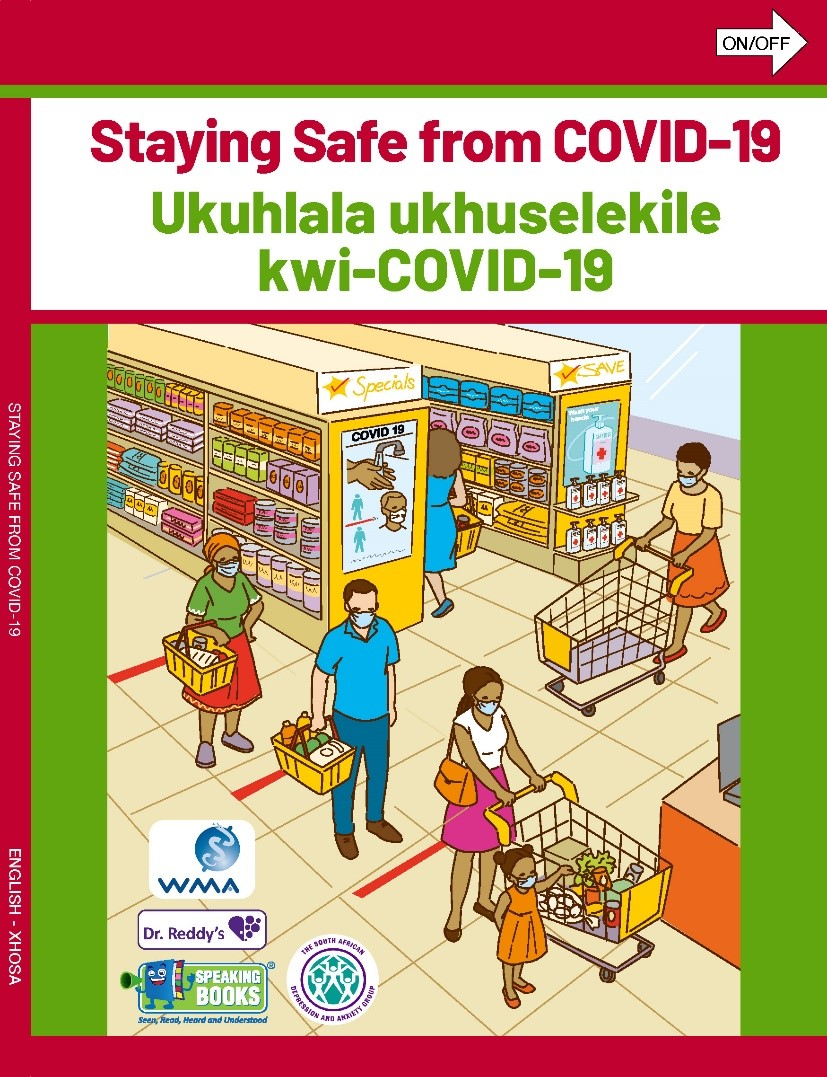 staying safe from covid speaking book 1