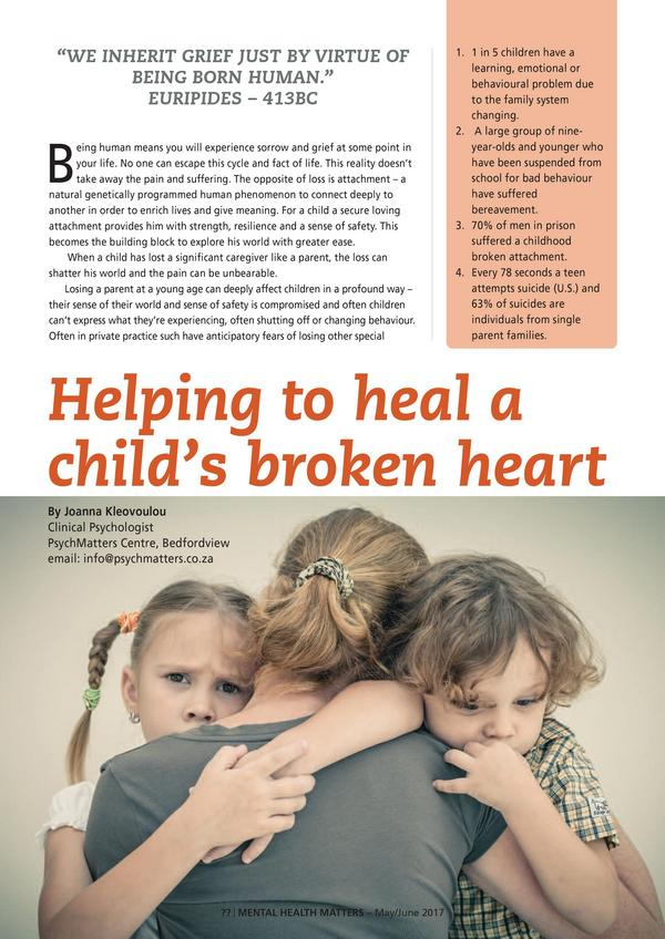 Helping t heal a child s broken heart1