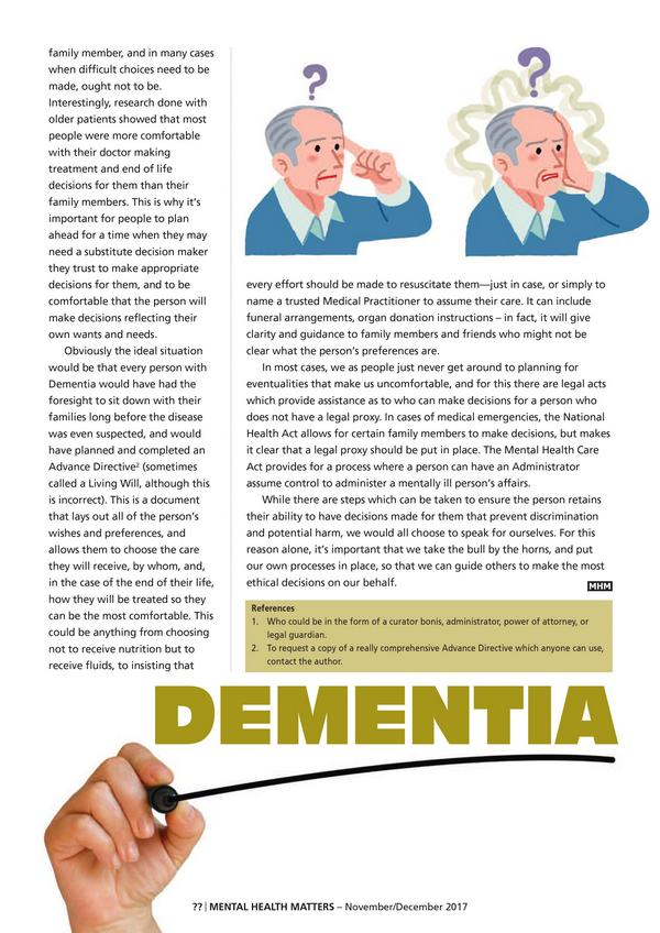 Legal and Ethical Responsibilities in Dementia 1 3