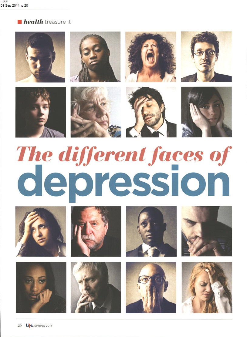 different faces of depression1