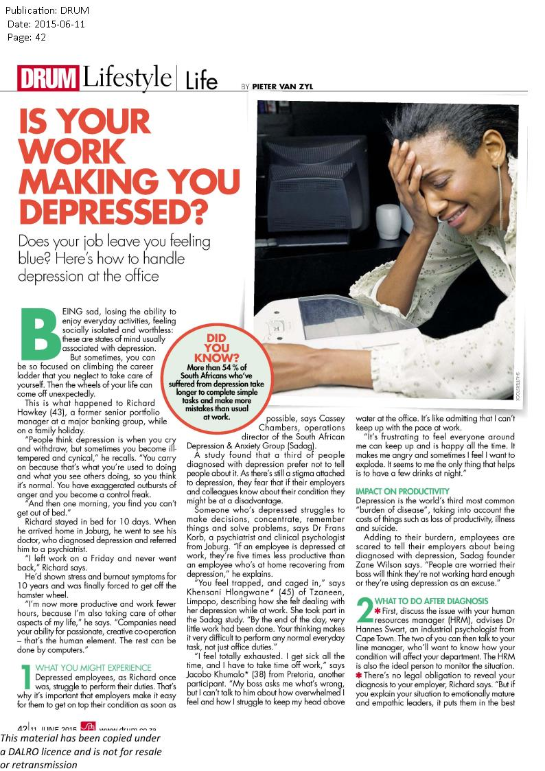 your work making you depressed1