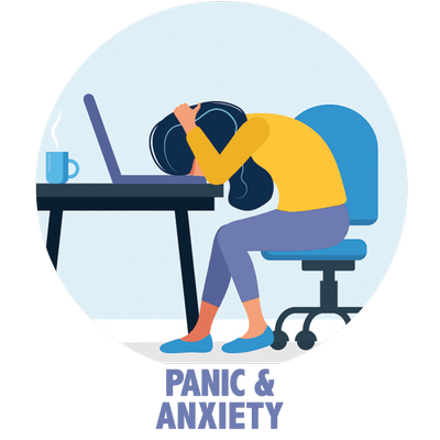panic anxiety icon